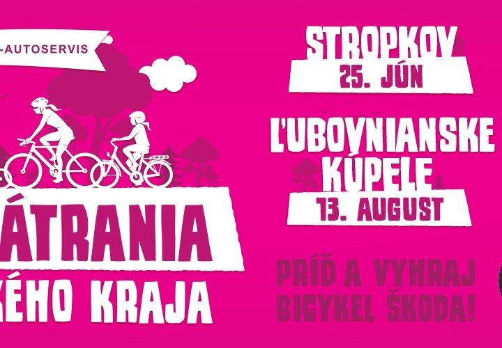 Cyklopátrania 2016: Spoznajte kraj na bicykli!