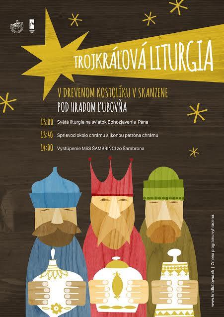 plagat_trojkralova_liturgia