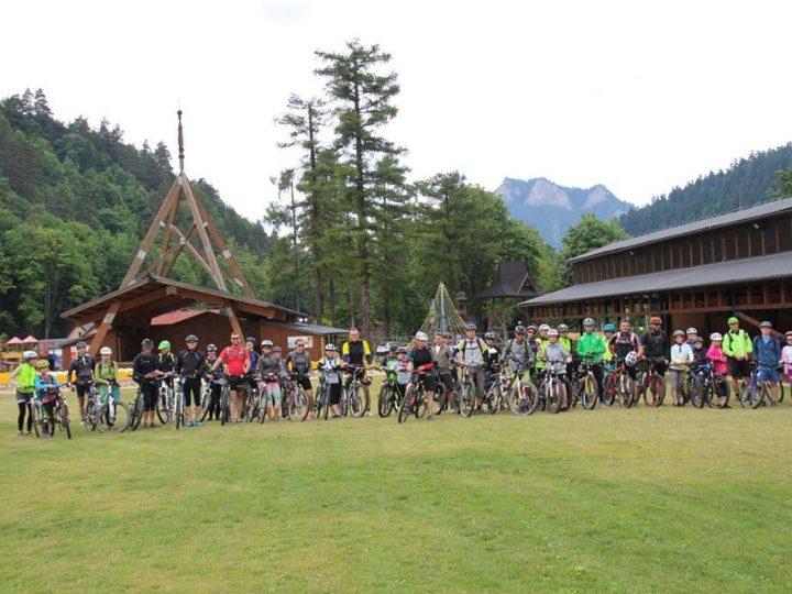 Cyklisti si užili poznávanie Pienin