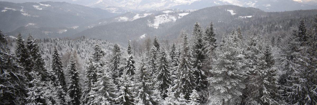 Eliášovka zima  výhľad