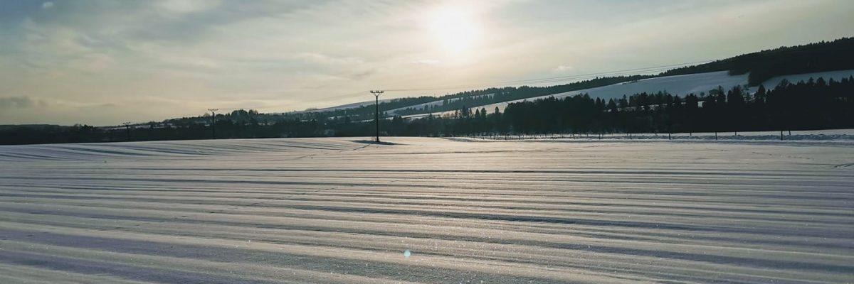 Tomko - zimná krajina